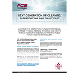 PCS 7000 Disinfectant Cleaner