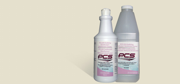 PCS 250 Oxidizing Disinfectant/Disinfectant Cleaner
