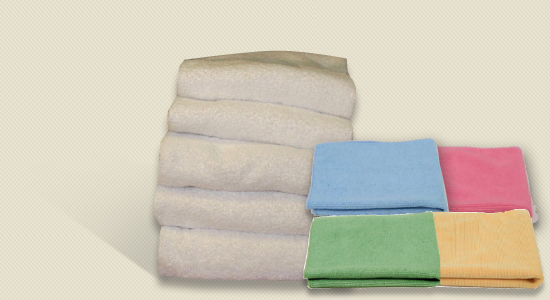 PCS Mircofibre & Cotton Cloths
