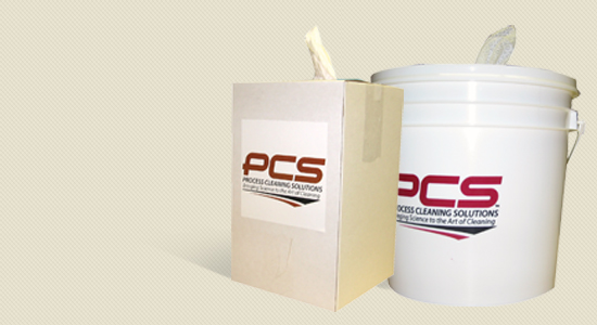 Process Cleaning Buckets with Lids / Wet & Dry Bulk Wipes