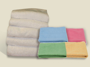 PCS Microfibre and Cotton Cloths