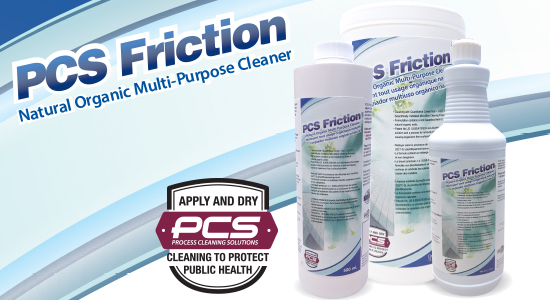 PCS Friction Hard Surface Cleaner